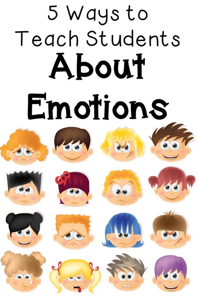 Need help teaching emotions to your students? Then you're going to love the five ideas presented in this blog post. Play games, watch a movie, act it out, and more! Your students will better understand various emotions, and you'll have some fun activities and lesson ideas. Great for use with special education students, those needing a lesson in empathy, character education lessons, and students who need extra help handling various behaviors or emotions. Click through for all the details now!