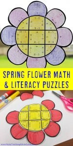 Click here to go to my Flower Puzzles on TpT!