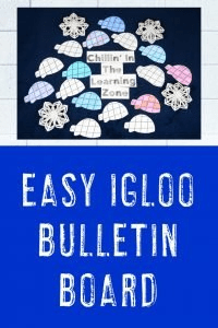 Easy Igloo Bulletin Board