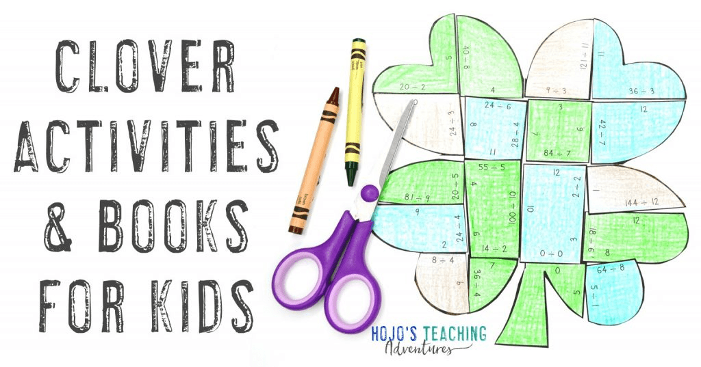 Clover Activities & Books or Kids