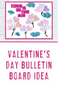 Valentine's Day Bulletin Board Idea