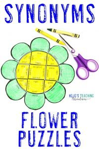 Click here to buy SYNONYM flower puzzles!