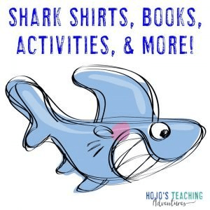 Click to go to my shark activities blog post!