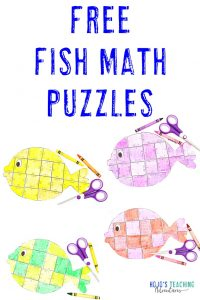 FREE fish puzzles