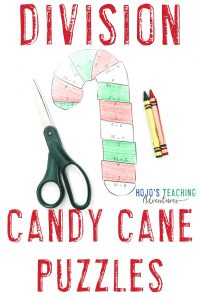 Click to get your own DIVISION candy cane puzzles!