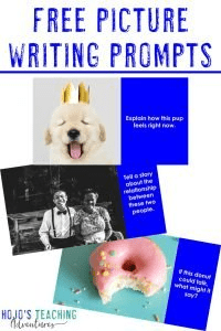 Click to get your 15 FREE picture writing prompts!