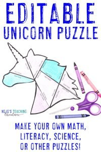Click to get this FREE unicorn puzzle game or activity!