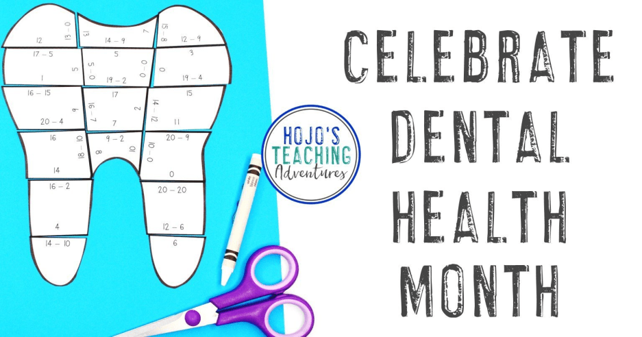 Dental Health Month Activities & Books for Kids