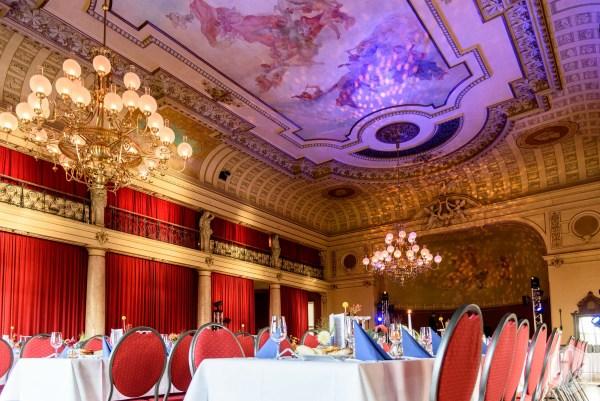 Große Ballsaal vom Brauhaus Watzke in Dresden