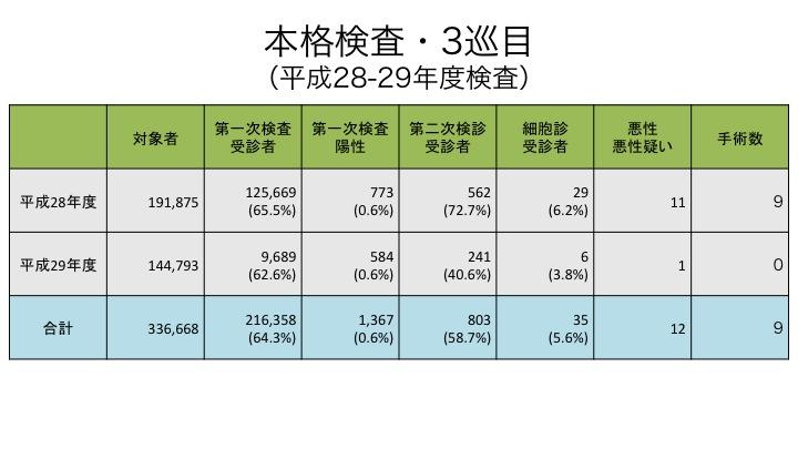 20180618 本格検査・3巡目(平成28-29年度検査)