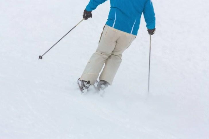 スキー振りー