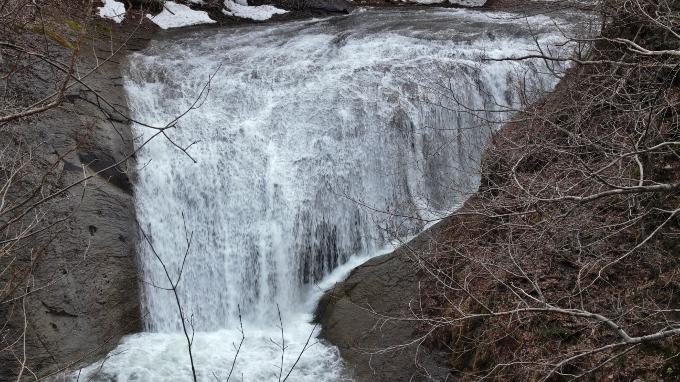 すんごい滝、白扇の滝、恵庭渓谷