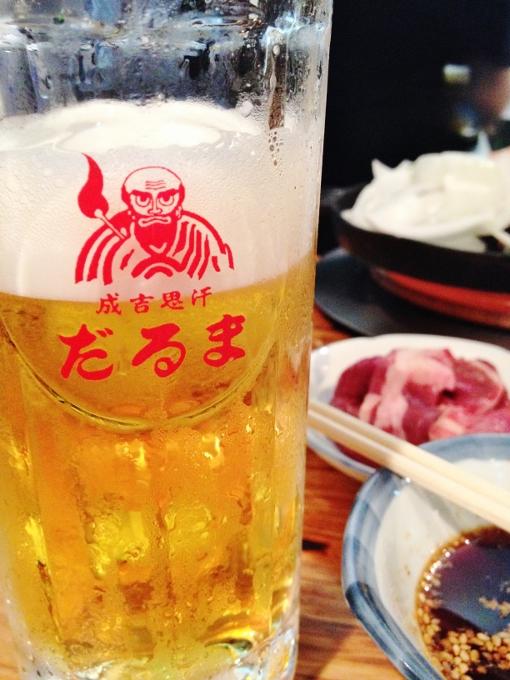 ジンギスカンなら「だるま」。札幌の夜はこれで決まり!
