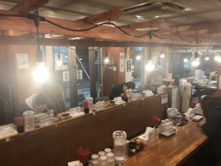 札幌煮干しセンター店内