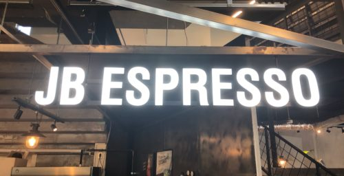 JB ESPRESSOの看板