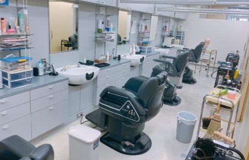 ニドークリニック札幌の理容室