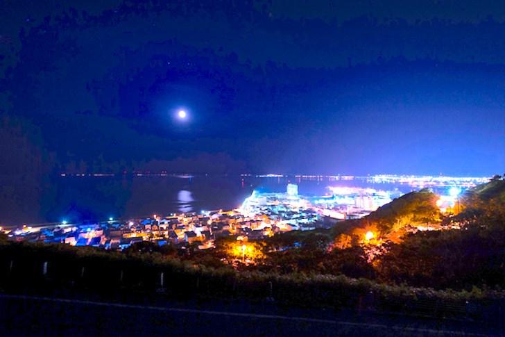 日本最北の夜景