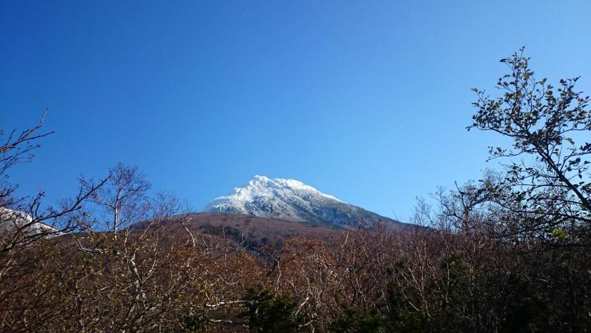 初冬の羅臼岳