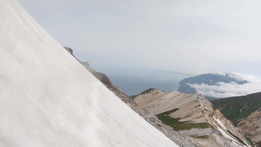 硫黄山アタックポイント付近