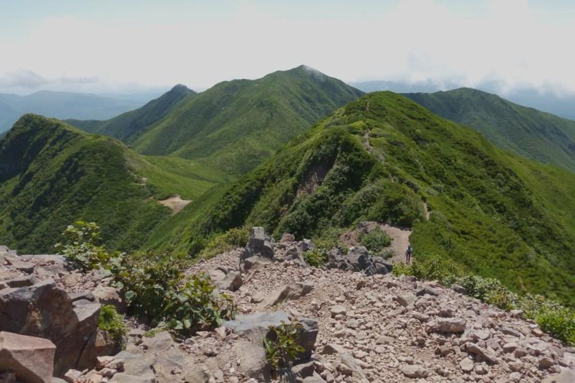 斜里岳・熊見峠方面