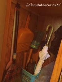 玄関の傘立て収納方法