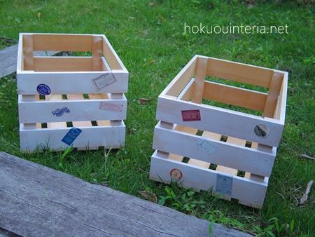 木箱リメイク