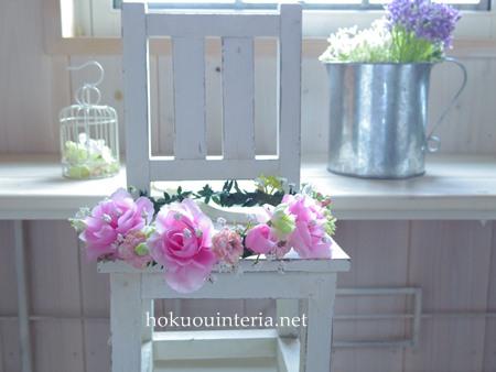 手作りの花かんむり