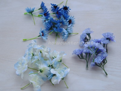 玄関に飾りたい100円造花
