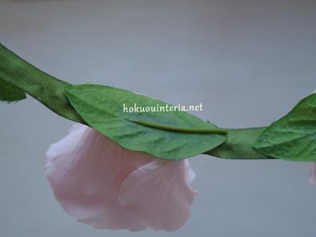 花冠をプリザーブドフラワーで作る