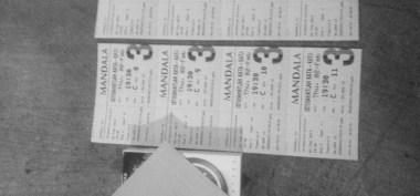 "Tiket nobar ""Istirahatlah Kata-kata"" di Mandala 21, Malang."