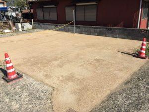 北都建設 エコ舗装 マサ土風舗装 昭和の道 カラー舗装