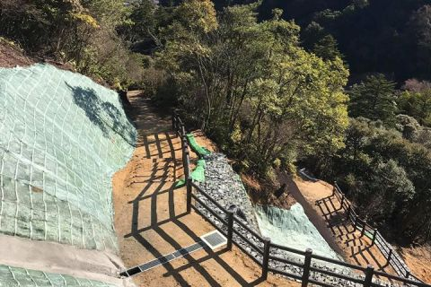 滝上公園災害復旧工事 北都建設