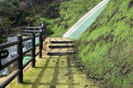 滝上公園災害復旧工事完成