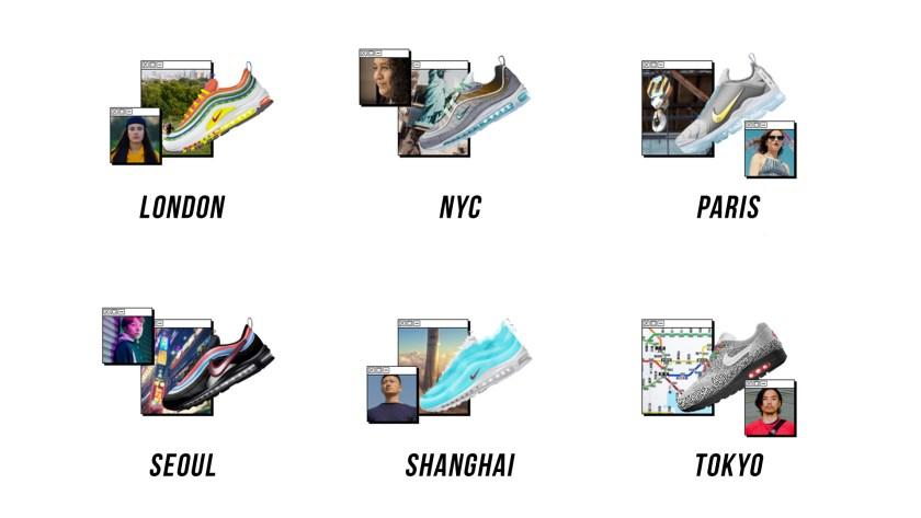 Nike On Air : les 6 finalistes
