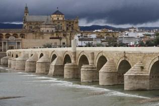 Puente romano y la Mezquita de Córdoba