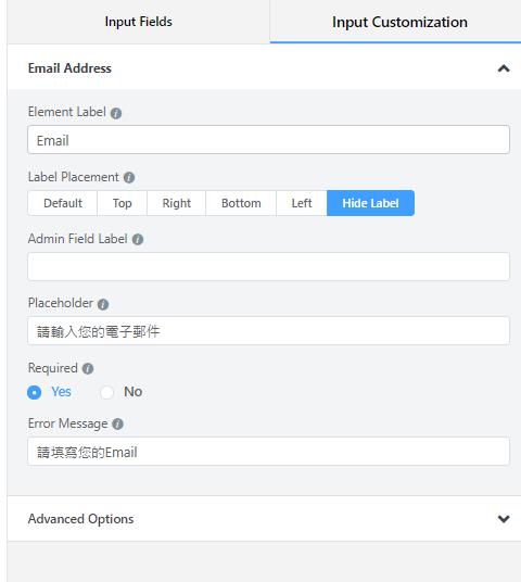 WordPress表單 fluent form 8