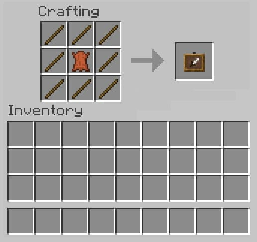 How to Make an Item Frame in Minecraft