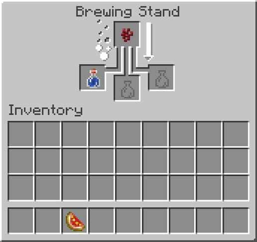 How to Make a Healing Potion in Minecraft