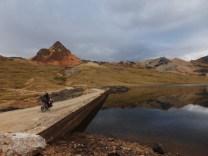 4'900m - eine Lagune hatten wir hier nicht erwartet