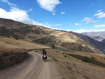 auf abgelegenen Pfaden nach Quichuas an die Hauptstrasse