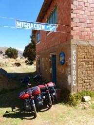 Zollgebäude à la Boliviana, Peru liess es gleich ganz bleiben