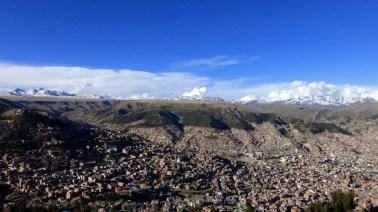 La Paz, ein Kessel im Altiplano