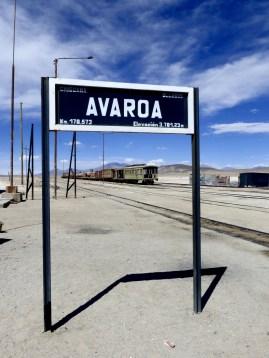 Grenzbahnhof, hier konnten wir unsere Wasservorräte auffüllen