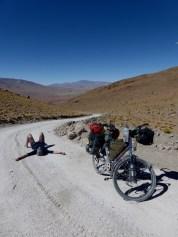 kleiner aber steiler Aufstieg, 'nur' 4'700 m, aber streng!