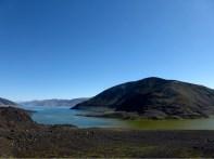 Nationalpark gegen Wasserkraftwerk: In Chile gewinnt immer die Energiegewinnung. Die Lagune verlor Wasser.