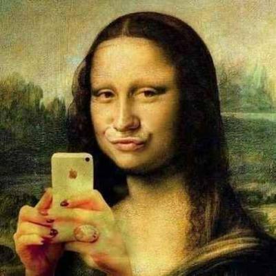 selfie-mona-lisa