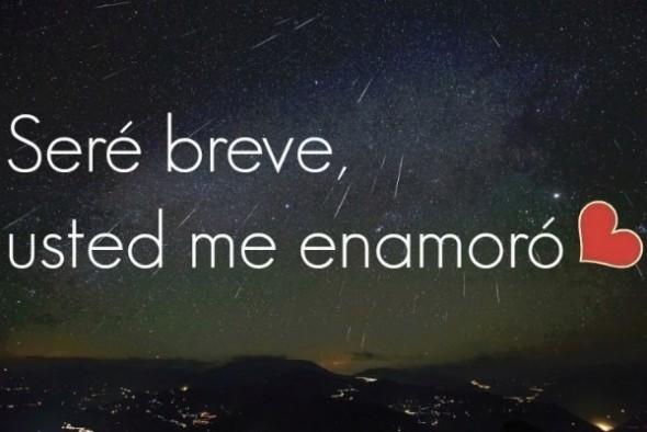 usted me enamoro