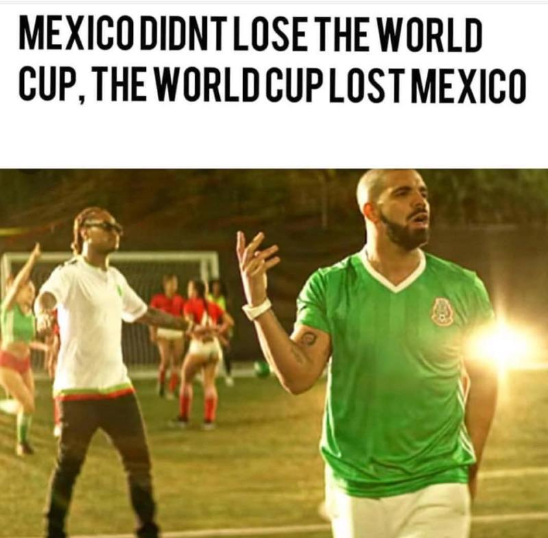 Mexico didn't lose the world cup...