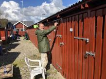 Arbejdslørdag Maj 2019 Holbæk Bådelaug. Foto - Dennis.
