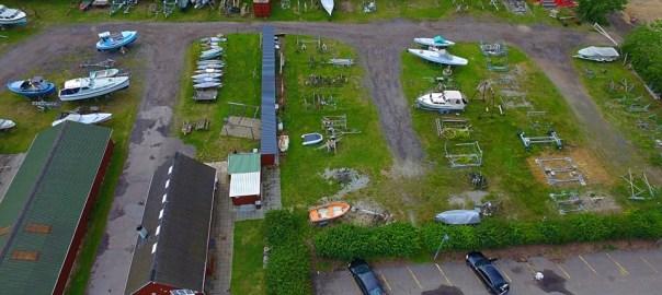 Dronefoto af Ali Adel Issa - Holbæk Bådelaug 2016